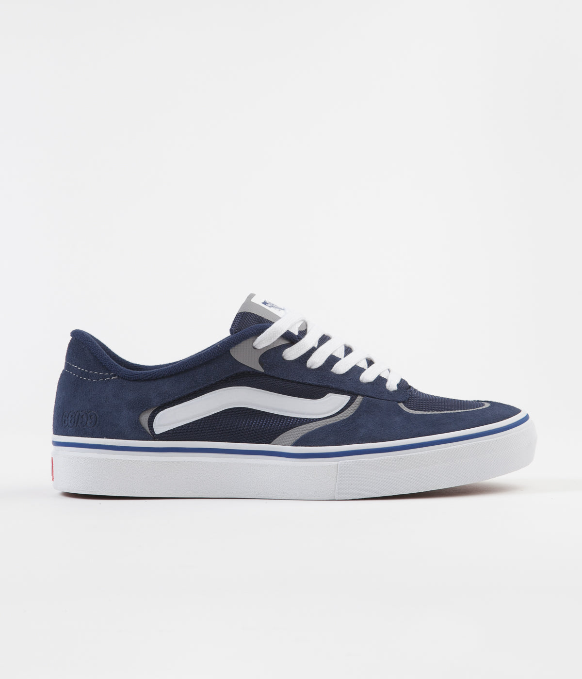Vans Rowley Rapidweld Pro Shoes - Navy / White