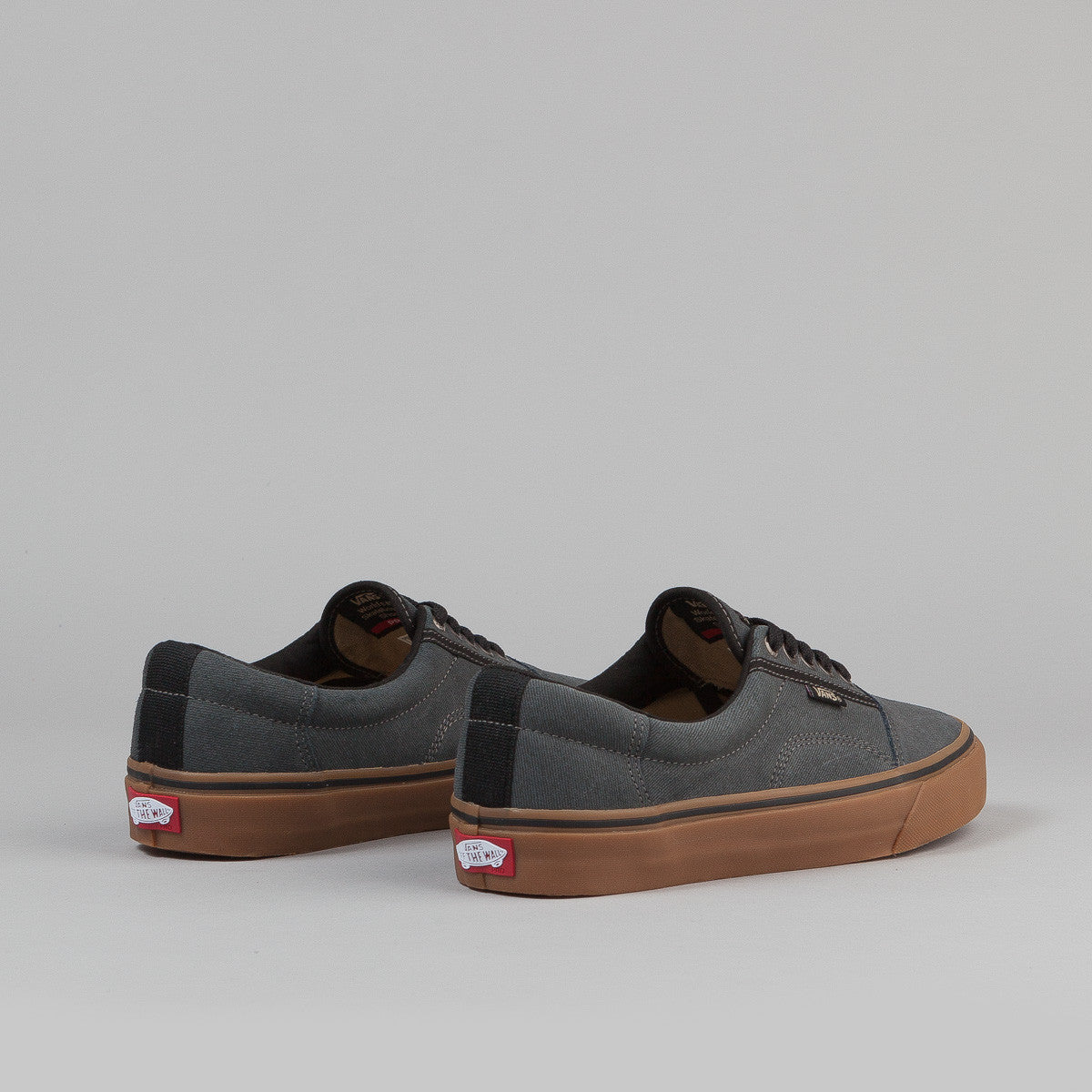 Vans Rowley Solos Shoes - (Xtuff) Black / Gum