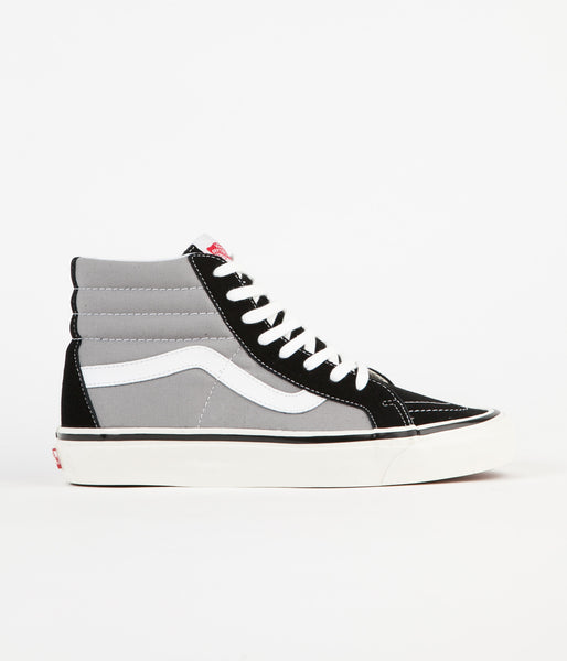 Vans Sk8-Hi 38 DX Anaheim Factory Shoes - Black / Light Grey