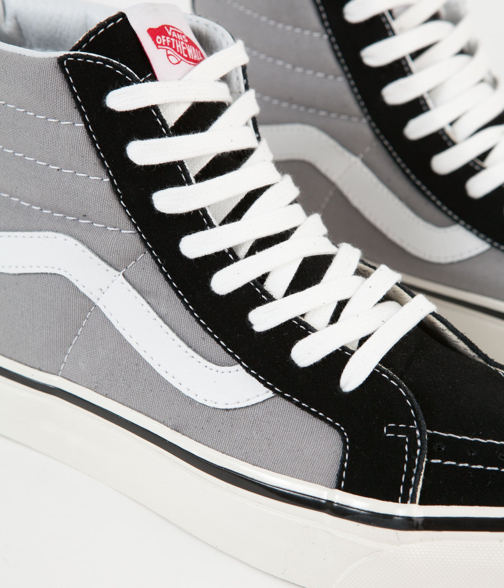 20a60819ee83d1 ... Vans Sk8-Hi 38 DX Anaheim Factory Shoes - Black   Light Grey ...