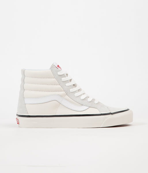 Vans Sk8-Hi 38 DX Anaheim Factory Shoes - OG White