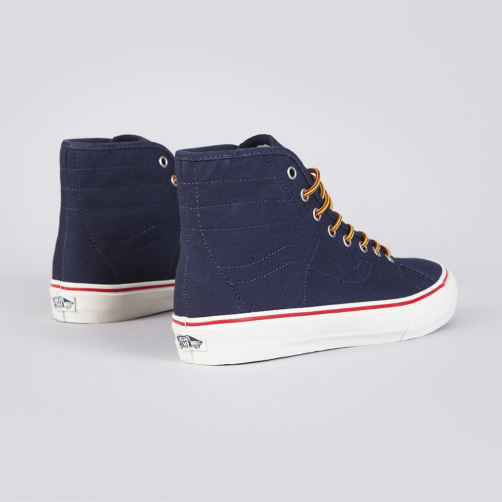 Vans Sk8-Hi Binding CA (10oz Canvas) Dress Blues