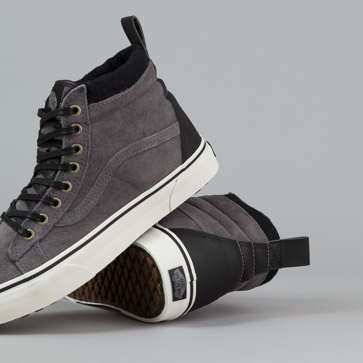 Vans Sk8-Hi MTE Shoes - Pewter / Wool