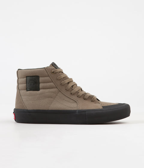 Vans Sk8-Hi Pro Dakota Roche Shoes - Covert Green / Black