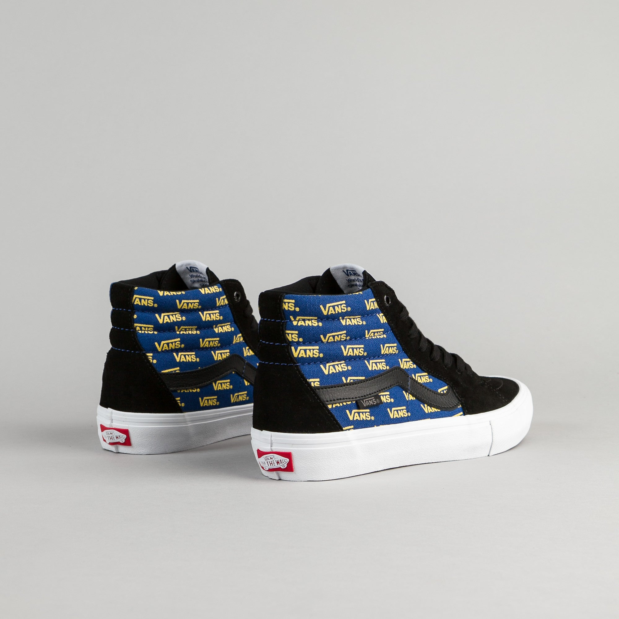 Vans SK8-Hi Pro Shoes - Black / Cyber Yellow