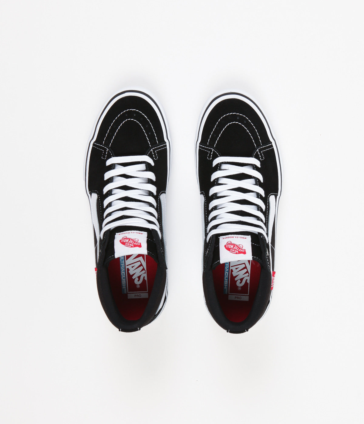 db4b46776c Previous. Vans Sk8-Hi Pro Shoes - Black   White ...