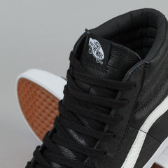 Vans Sk8-Hi Reissue Shoes - (Premium Leather) Black