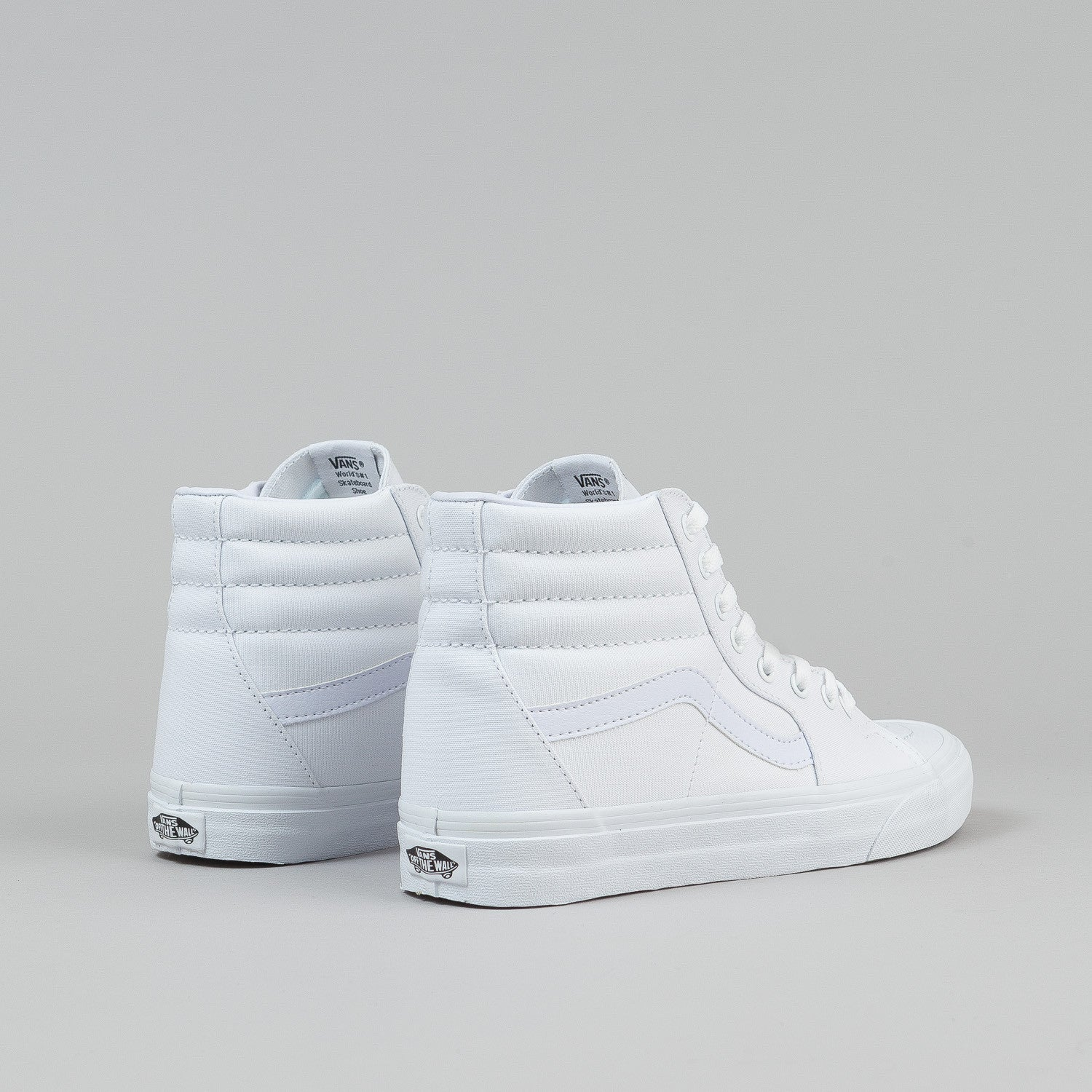 Vans Sk8-Hi Shoes - True White Canvas