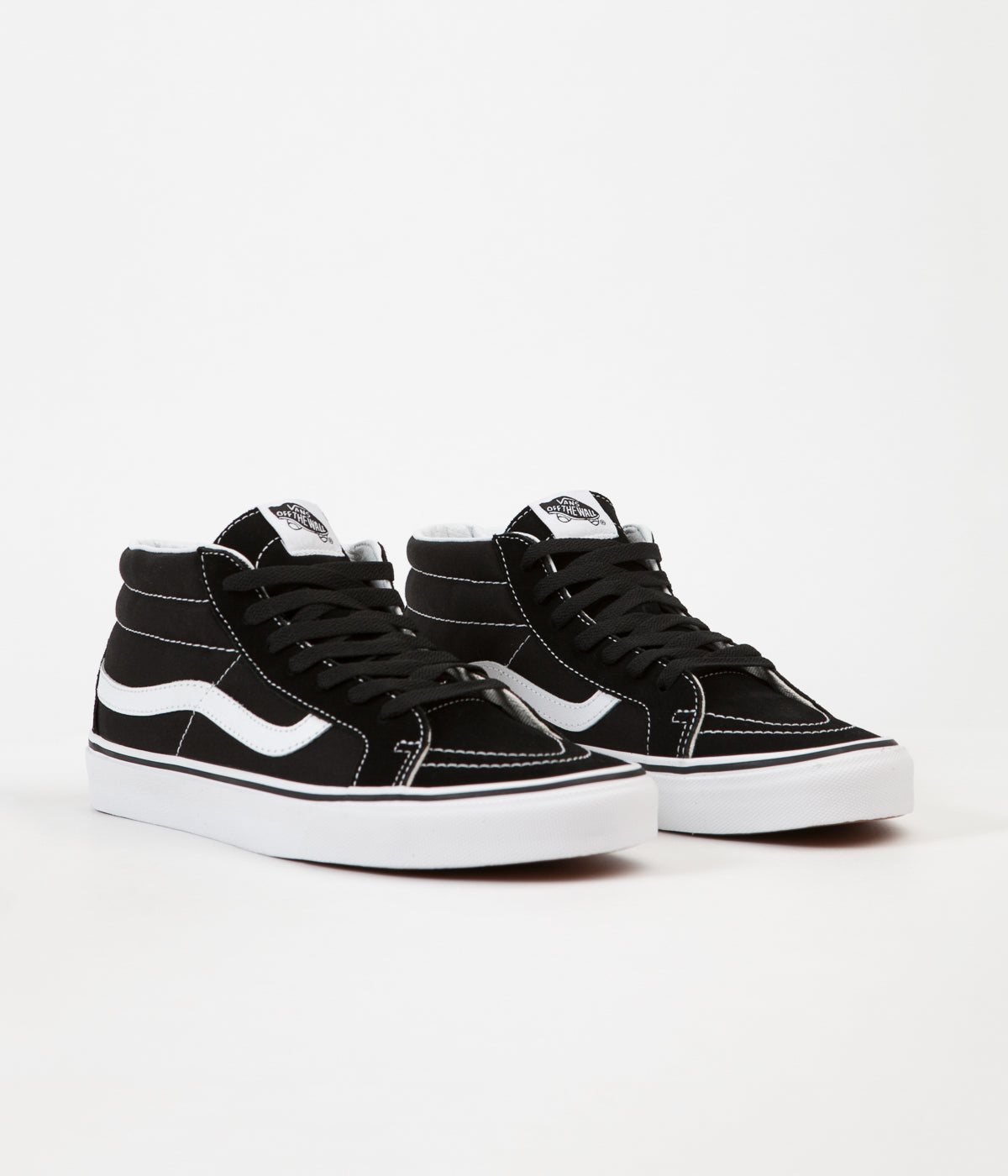 Vans Sk8-Mid Reissue Shoes - Black / True White
