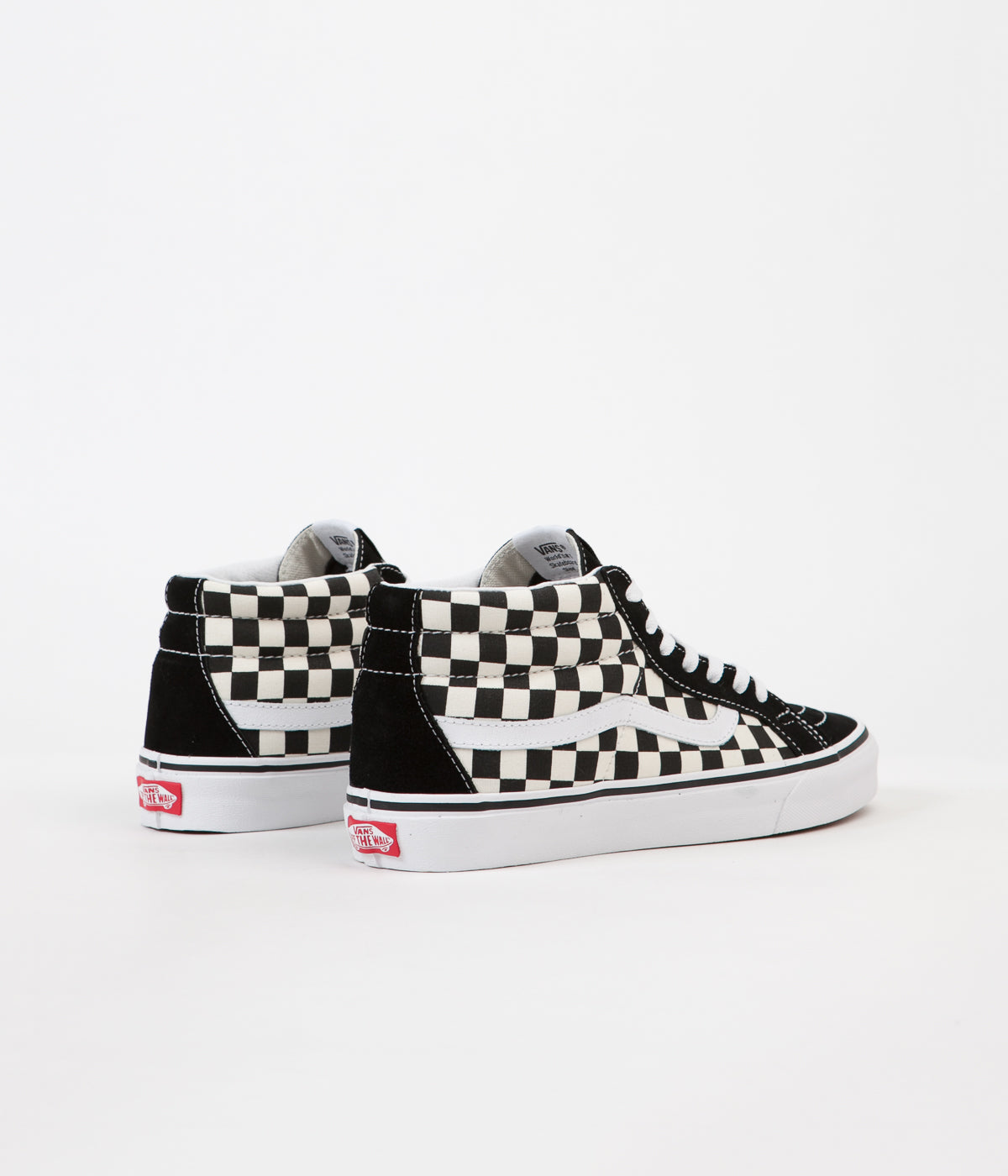 68d65ec511 ... Vans Sk8-Mid Reissue Shoes - Checkerboard   True White ...