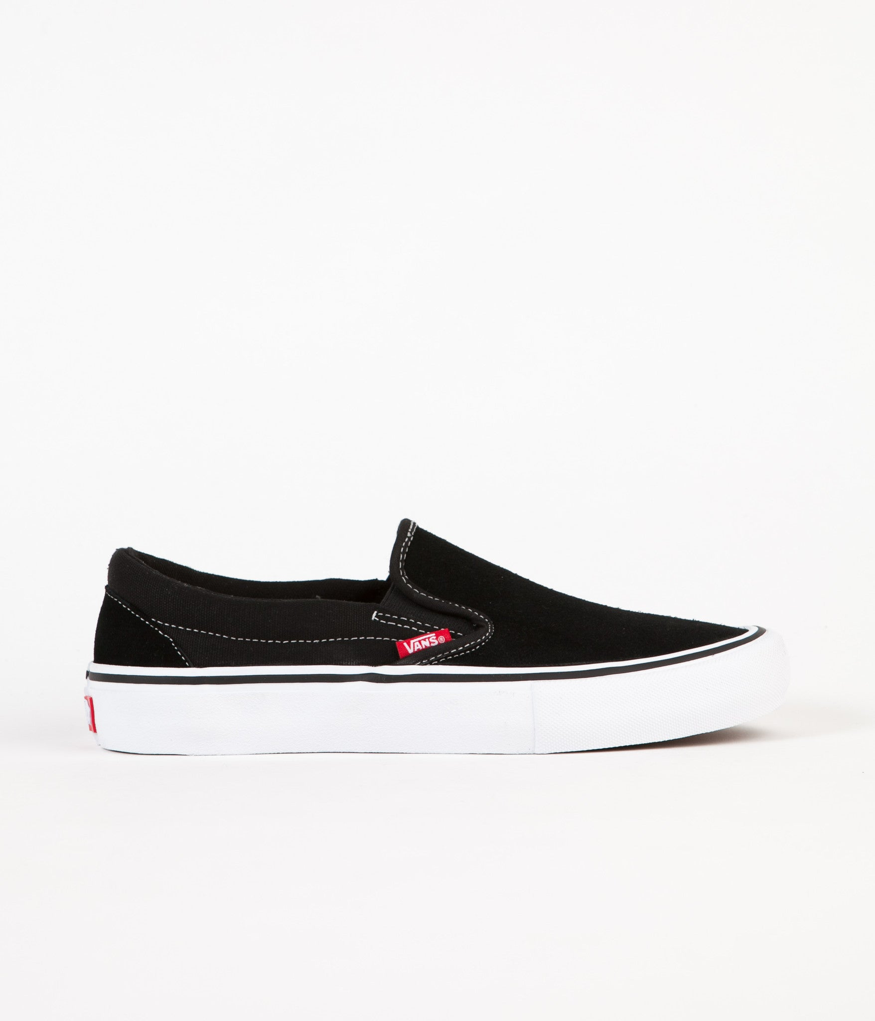 Vans Slip On Pro Shoes - Black / White / Gum
