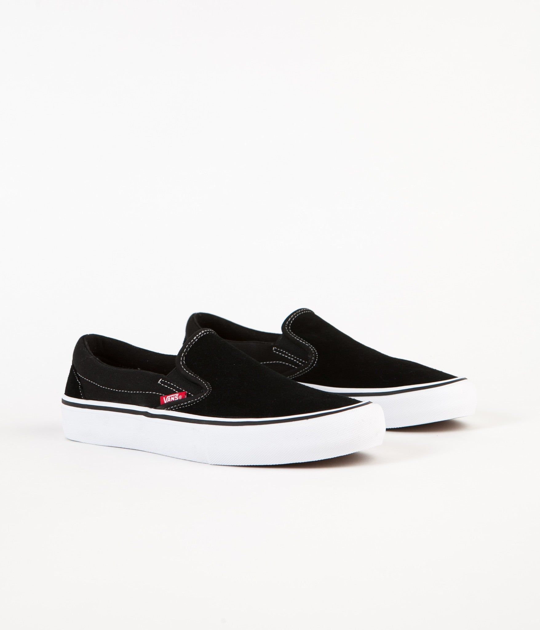 d7a07a07b69 ... Vans Slip On Pro Shoes - Black   White   Gum ...