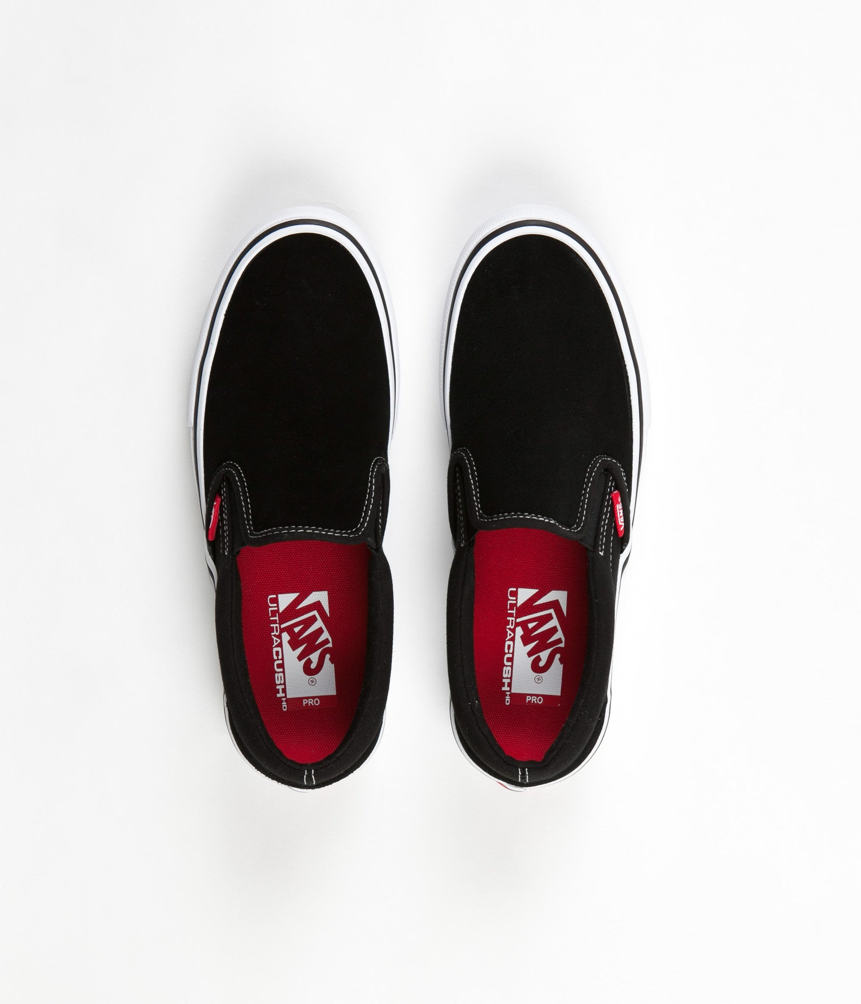 58f07b51ff6 Vans Slip On Pro Shoes - Black   White   Gum ...