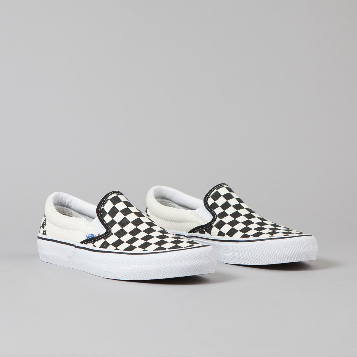 Vans 50th Slip On Pro '82 Shoes - Checkerboard