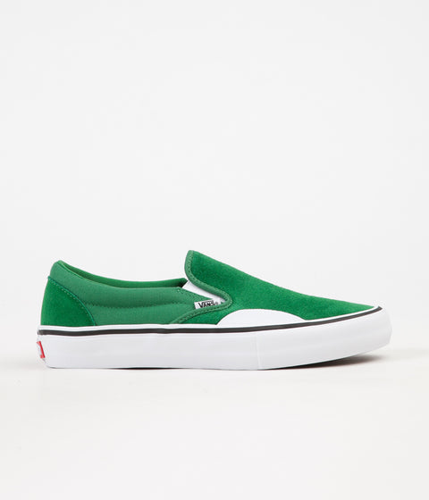 Vans Slip On Pro Shoes - Amazon / White