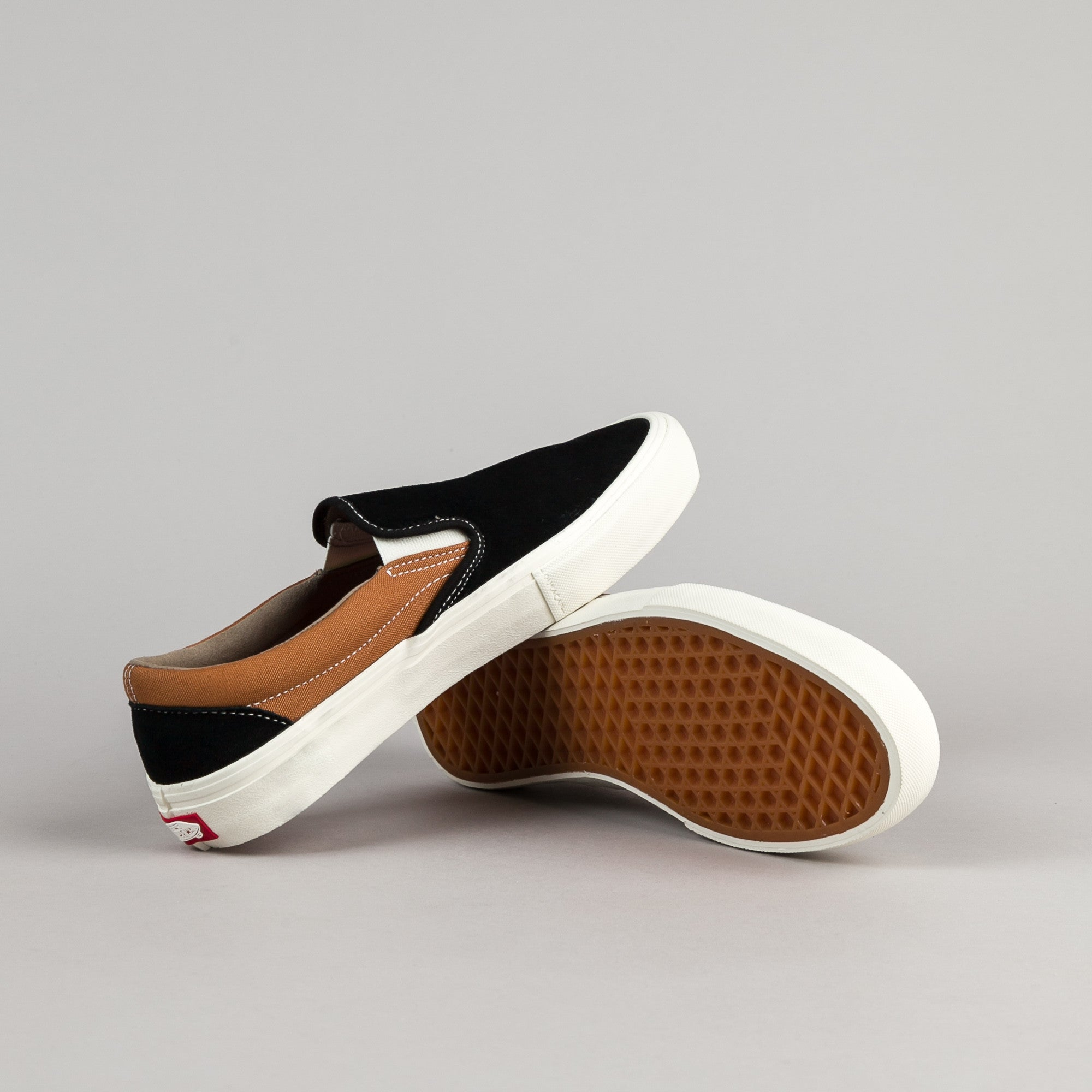 Vans Slip-On Pro Shoes - Black / Bronze