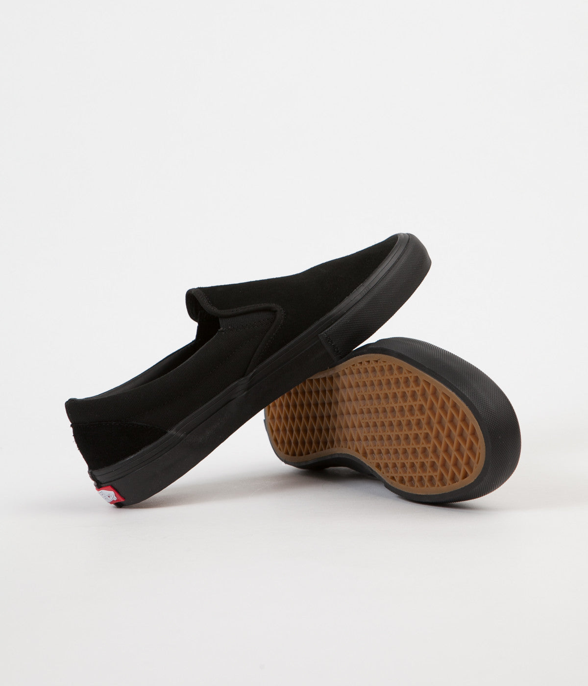 Vans Slip On Pro Shoes - Blackout