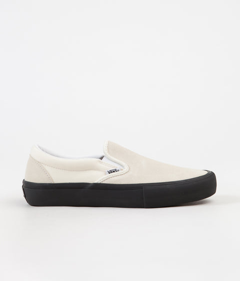 Vans Slip On Pro Shoes - Classic White / Black