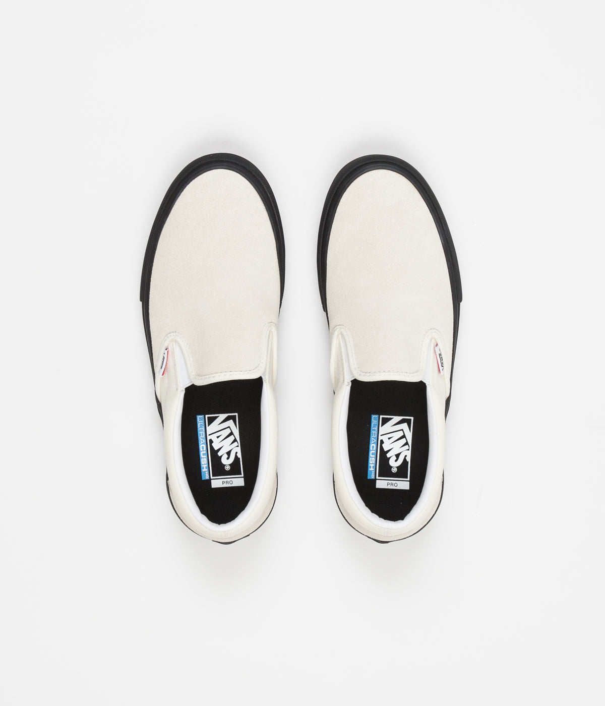 9963a24f2570 Vans Slip On Pro Shoes - Classic White   Black ...