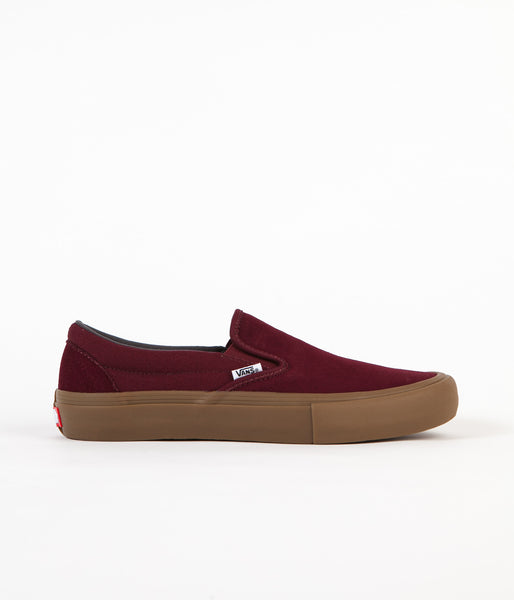 Vans Slip-On Pro Shoes - Port Royal / Gum