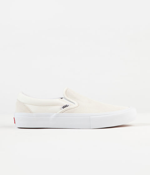Vans Slip-On Pro Shoes - (Rubber Print) Marshmallow