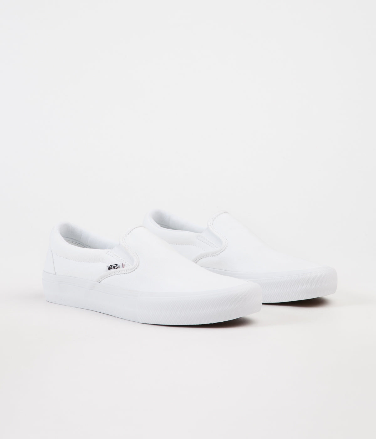 Vans Slip On Pro Shoes - White / White