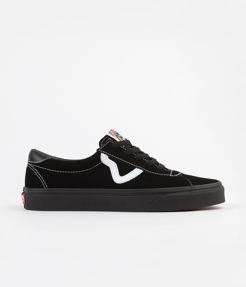 Vans Sport Shoes - Black / Black