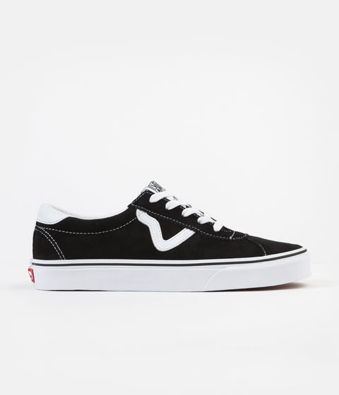 Vans Sport Shoes - (Suede) Black