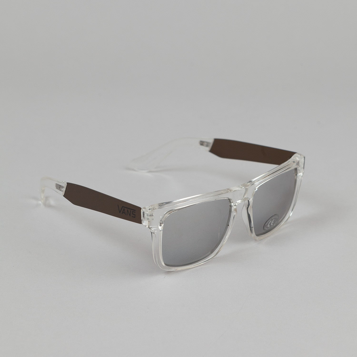 Vans Squared Off Sunglasses - Clear / Gold