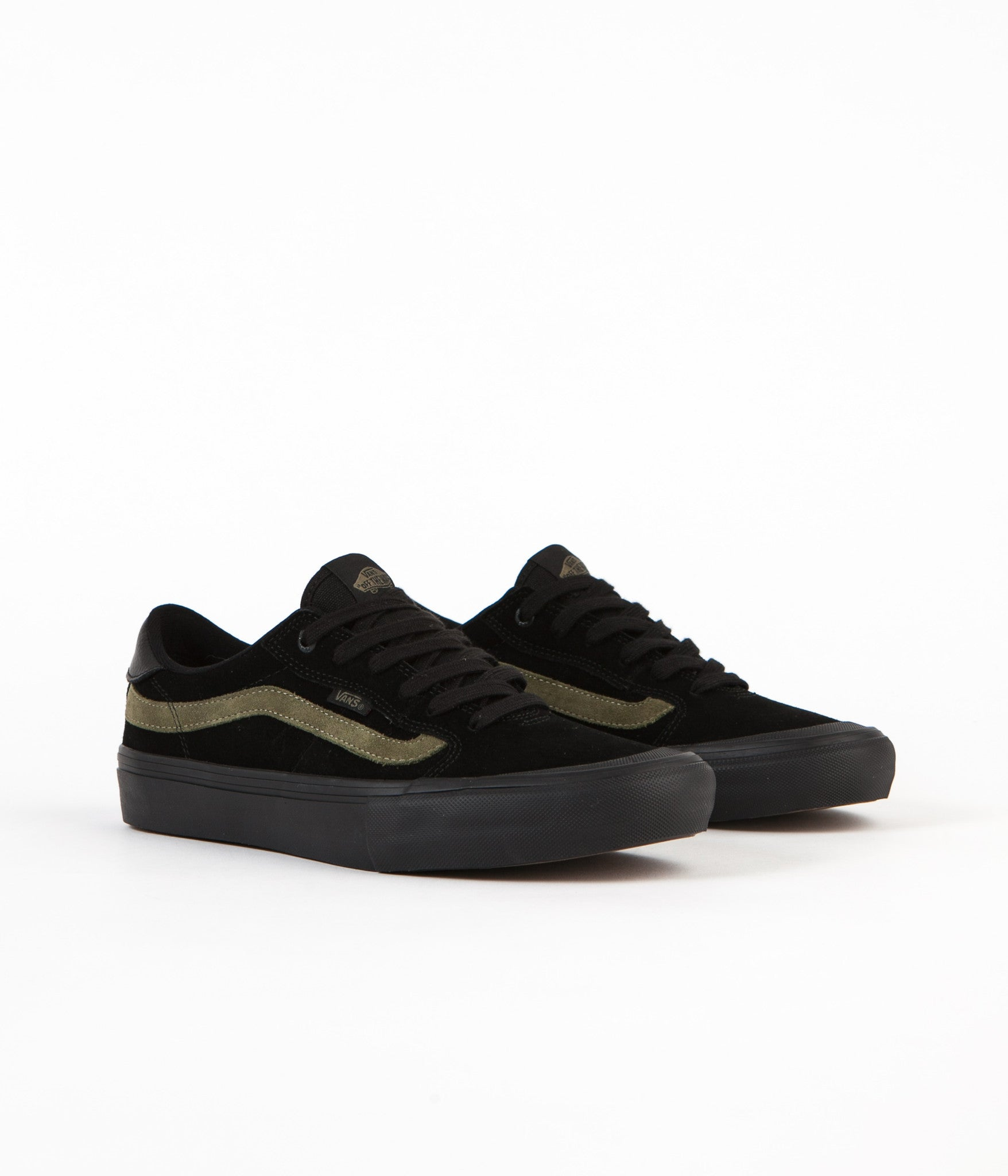 Vans Style 112 Dakota Roche Pro Shoes - Black / Burnt Olive