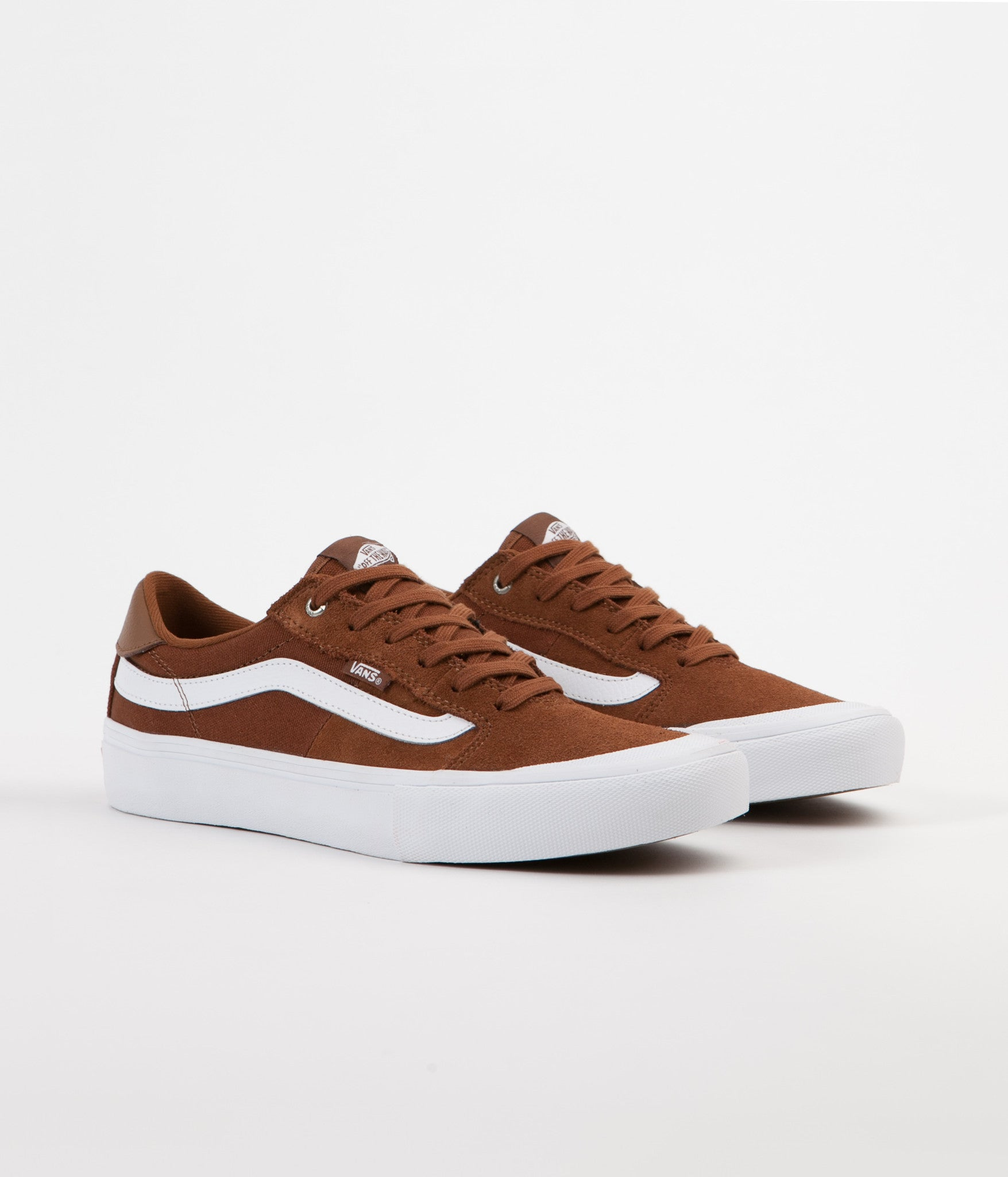 Vans Style 112 Pro Shoes - Tobacco / White