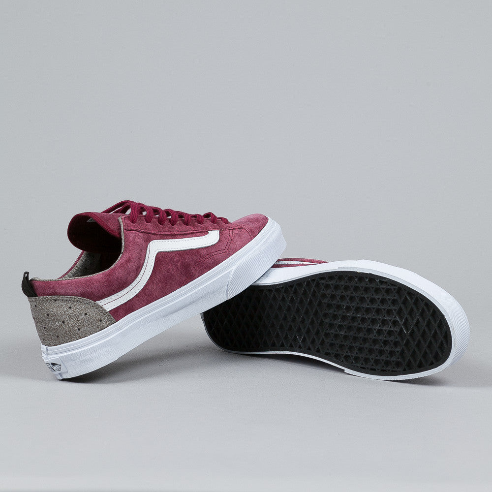 Vans Style 36 CA (Polka Suiting) Tawny Port