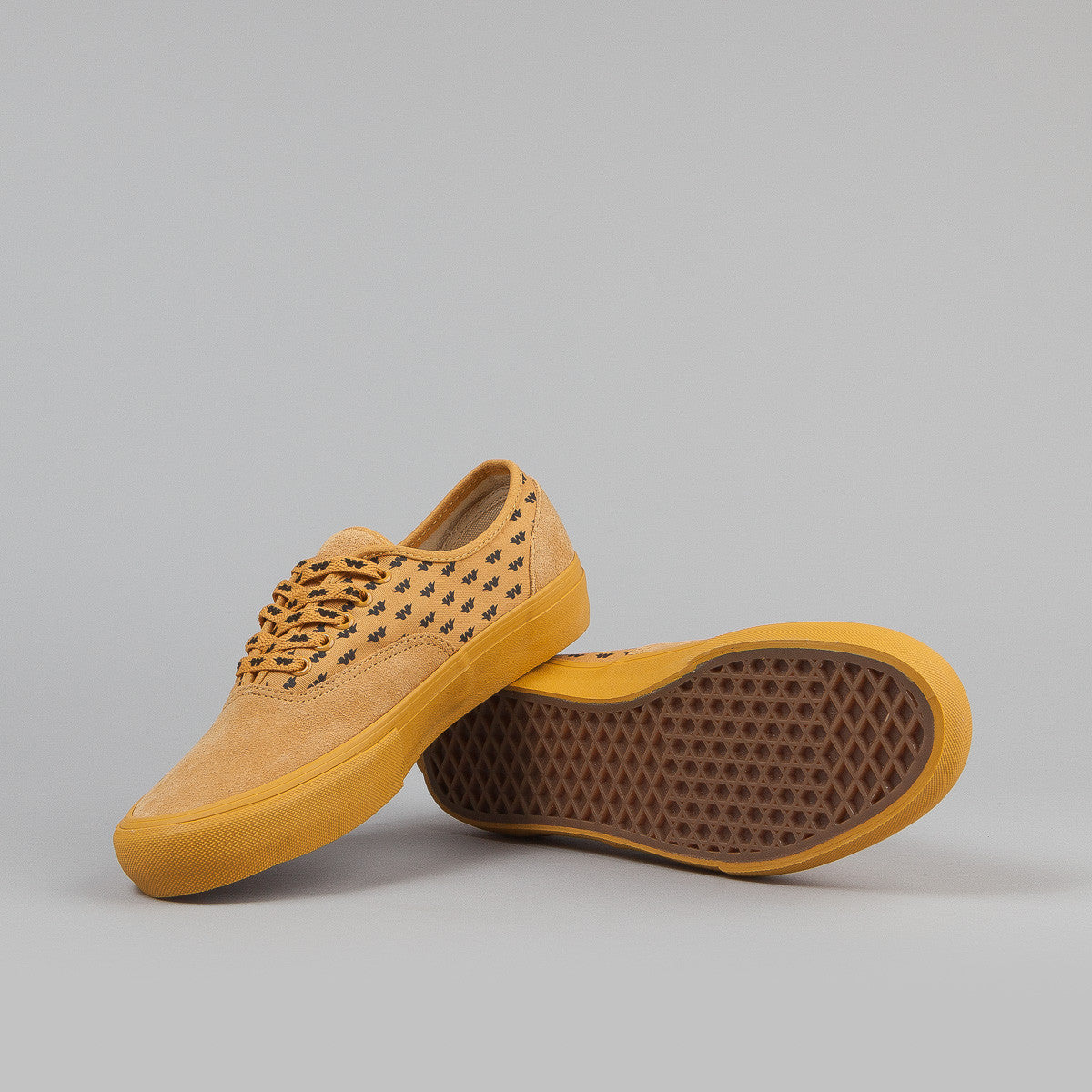 "Vans Syndicate Authentic ""S"" (WTAPS) Shoes - Yellow"