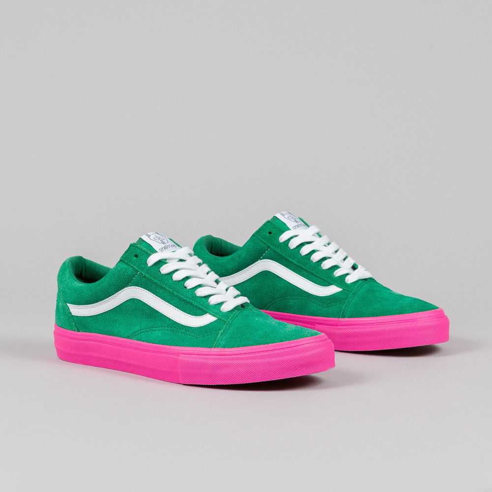 Vans Syndicate Old Skool Pro S Golf Wang Green Pink