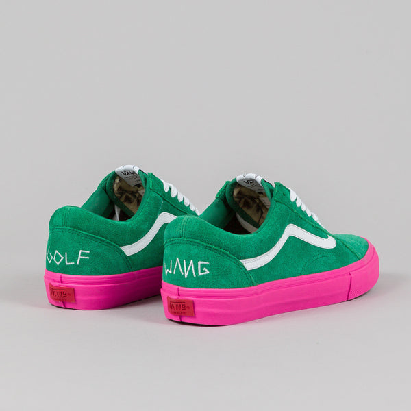 Golf Bags For Sale >> Vans Syndicate Old Skool Pro 'S' (Golf Wang) Green/Pink ...