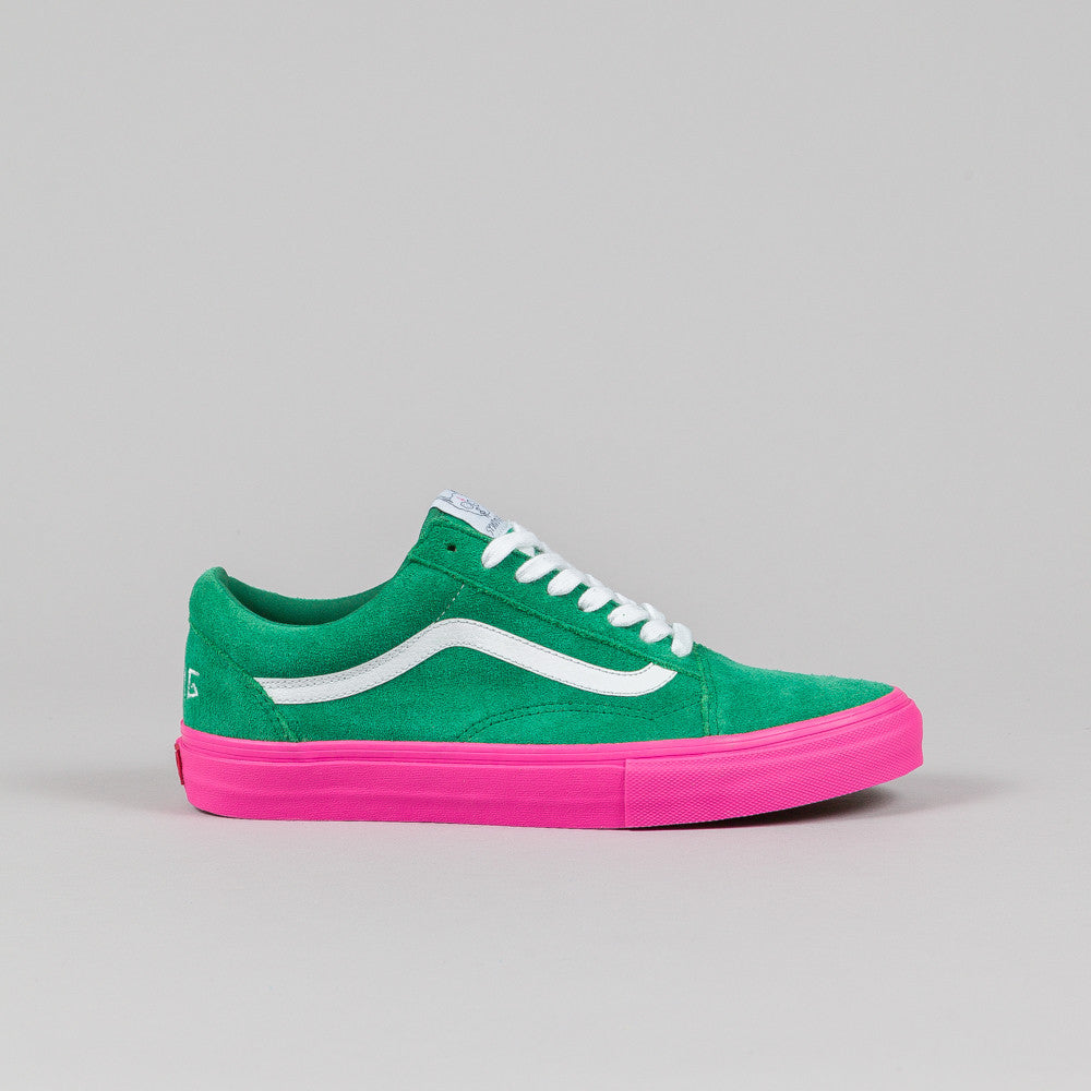 Vans Syndicate Old Skool Pro 'S' (Golf Wang) Green/Pink