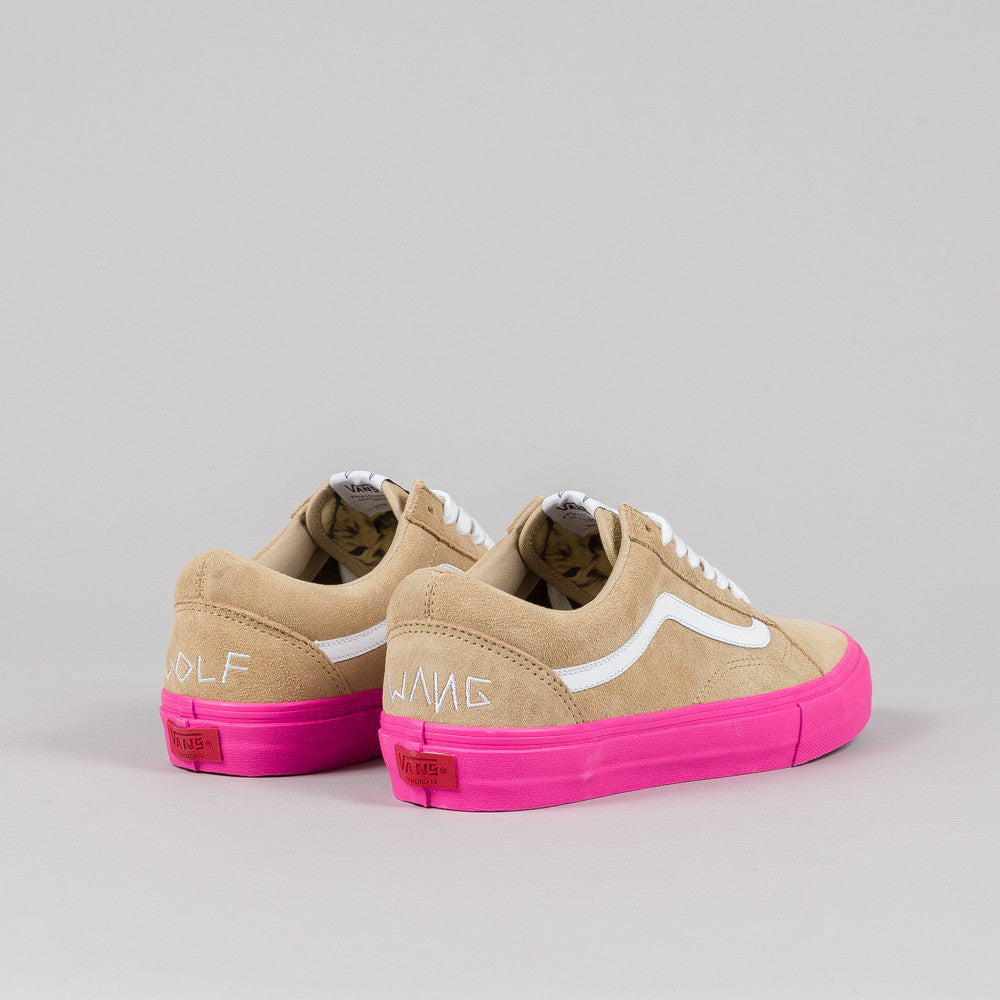 Vans Syndicate Old Skool Pro 'S' (Golf Wang) Wheat/Pink