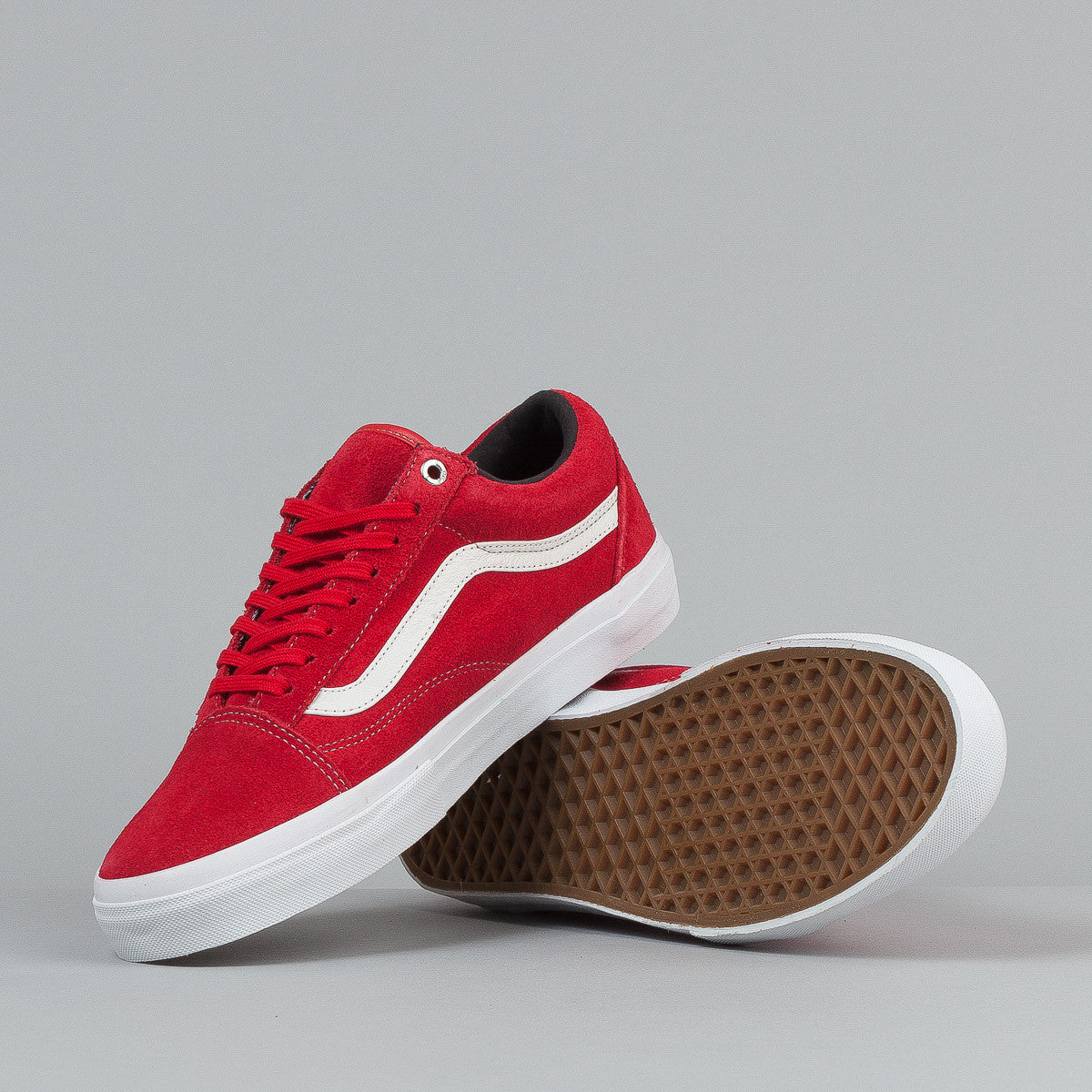 Vans Syndicate Old Skool Pro 'S' Shoes - Red / White