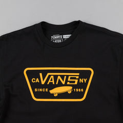 Vans Full Patch T-Shirt - Black / Cathay Spice