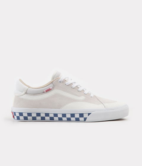 Vans TNT Advanced Prototype Checkerboard Shoes - Marshmallow