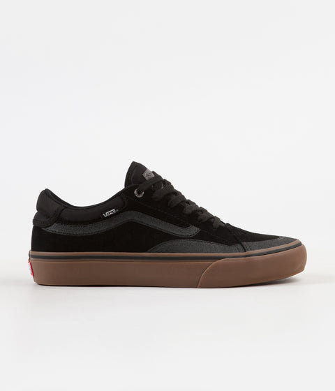 Vans TNT Advanced Prototype Shoes - Black / Gum