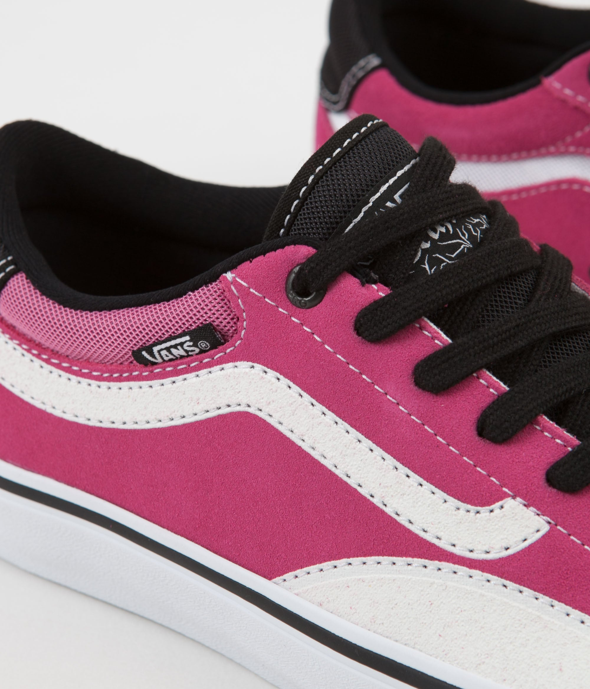 e4da93d4a11e9d ... Vans TNT Advanced Prototype Shoes - Black   Magenta   White ...