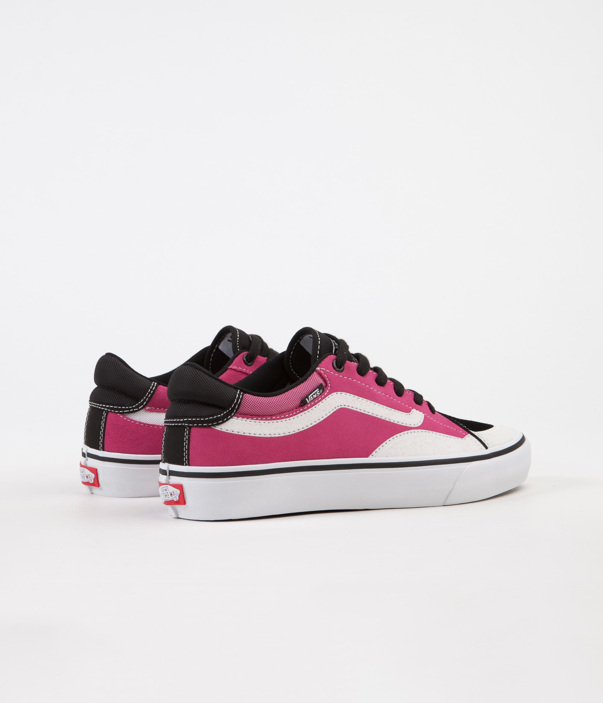 Vans TNT Advanced Prototype Shoes - Black / Magenta / White