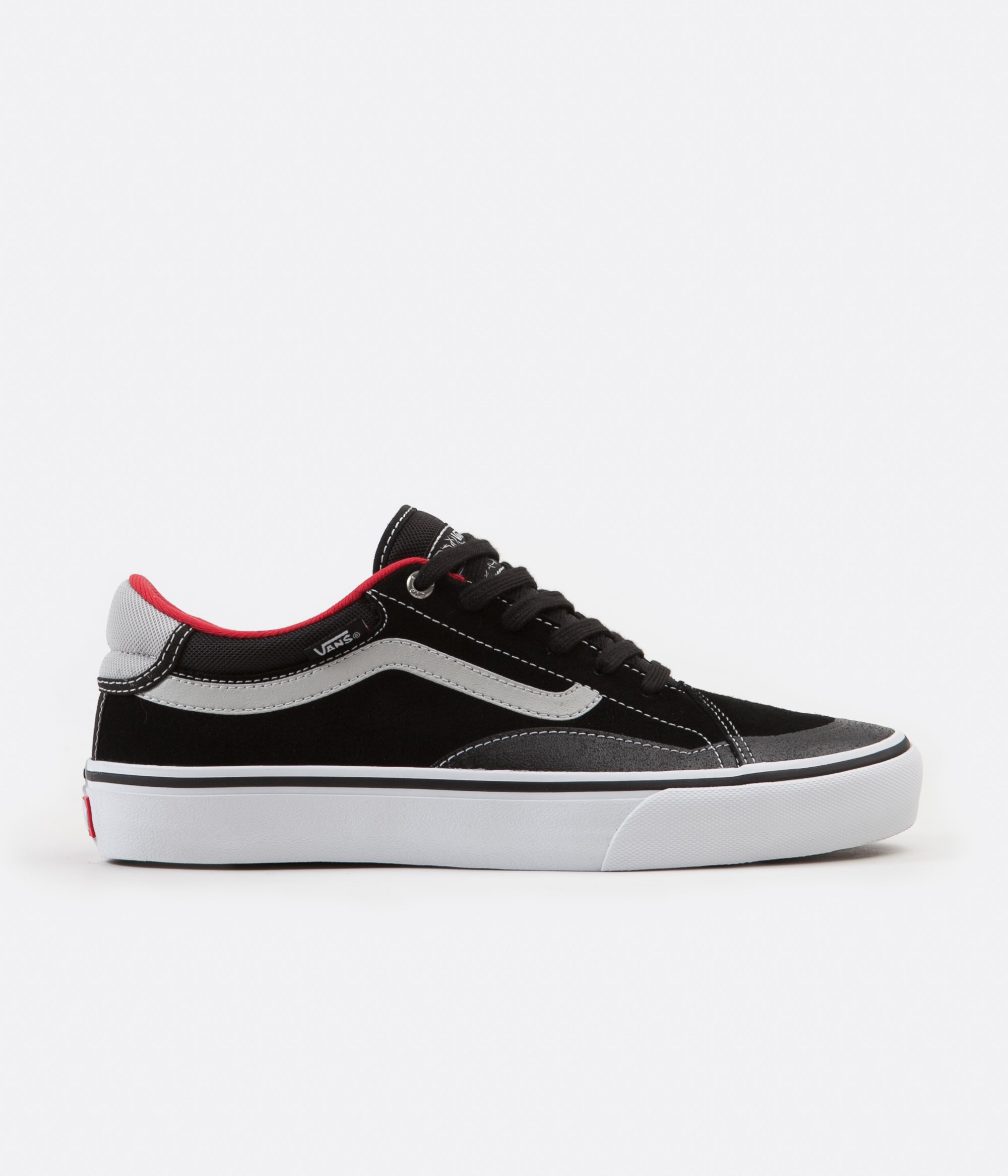 White Shoes Black Vans RedFlatspot Advanced Tnt Prototype FJTlK1c