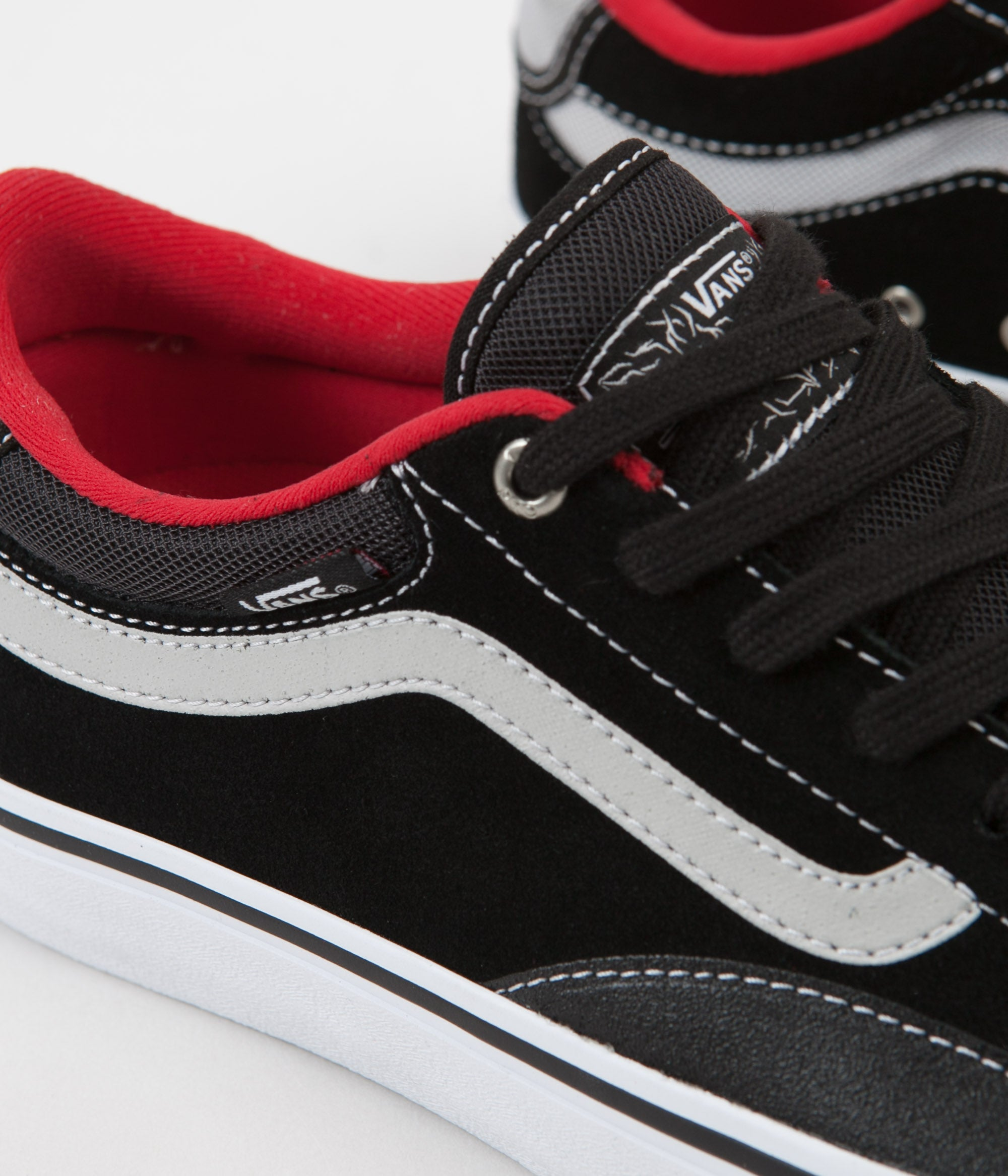237edee863 ... Vans TNT Advanced Prototype Shoes - Black   White   Red ...