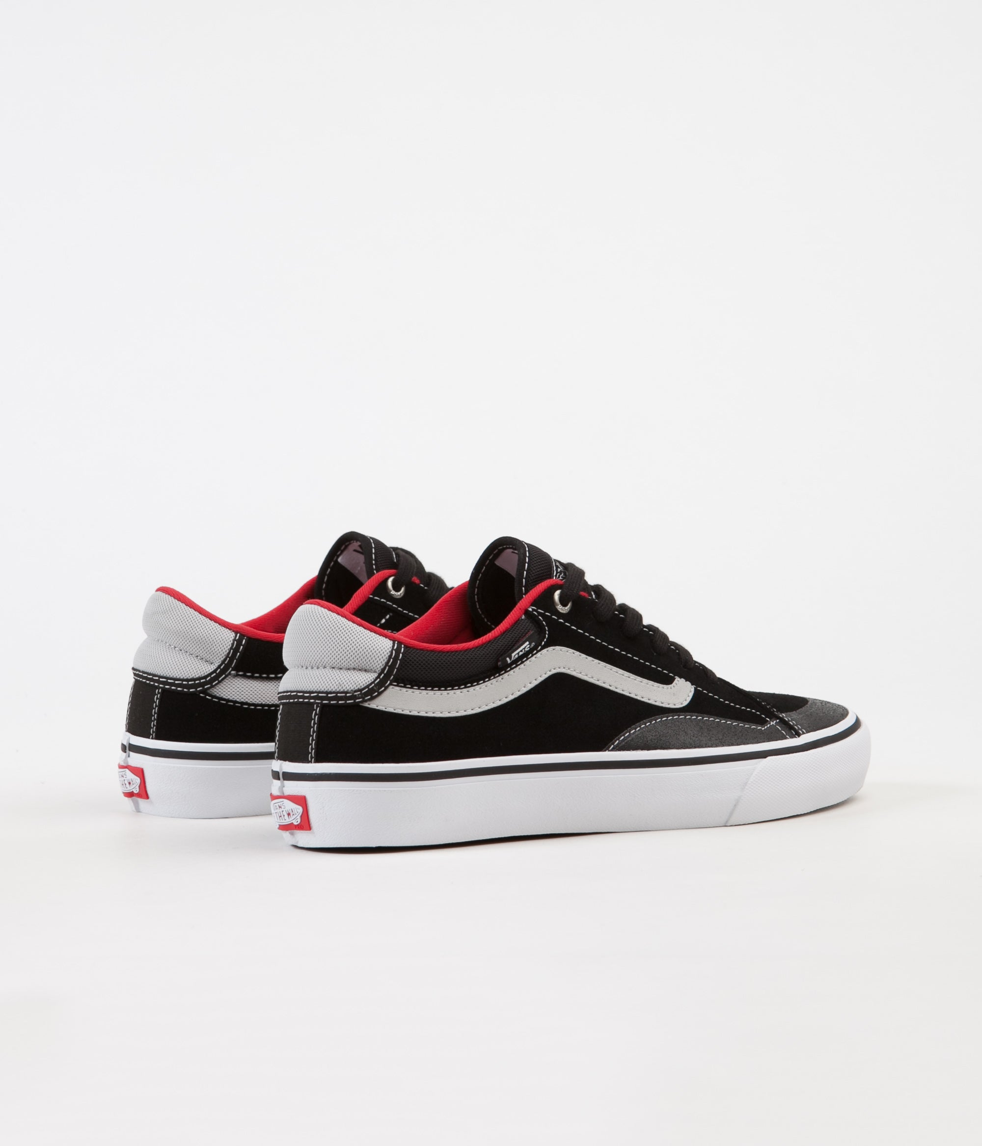 Vans TNT Advanced Prototype Shoes - Black / White / Red