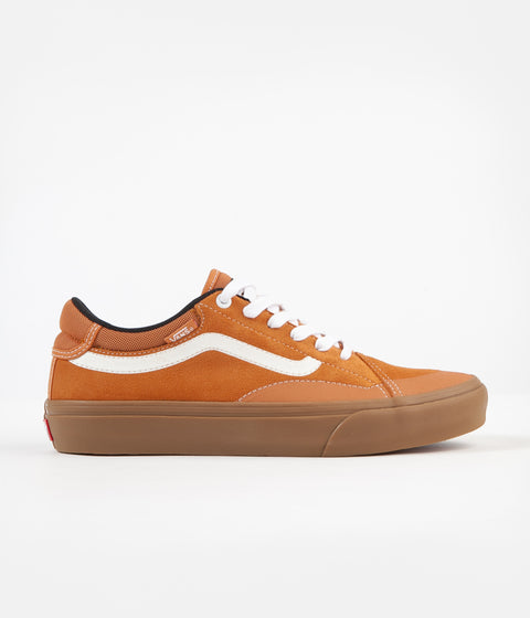 Vans TNT Advanced Prototype Shoes - (Gum) Golden Oak / True White