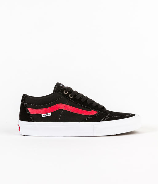 Vans TNT SG Shoes - Black / Racing Red