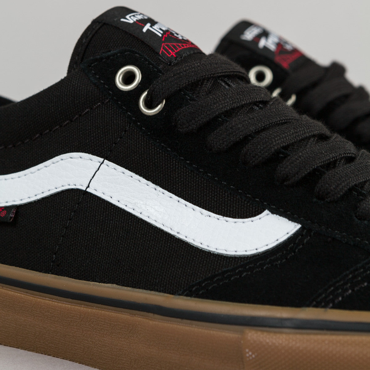 Vans TNT SG Shoes - Black / White / Gum