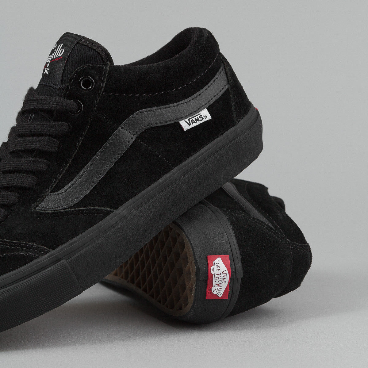 Vans TNT SG Shoes - Blackout